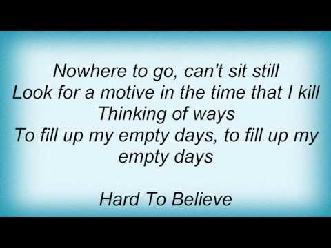 16682 Pat Benatar - Hard To Believe Lyrics