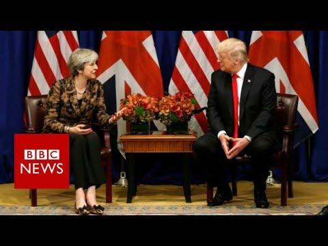 Donald Trump retweets far-right group's anti-Muslim videos- BBC News