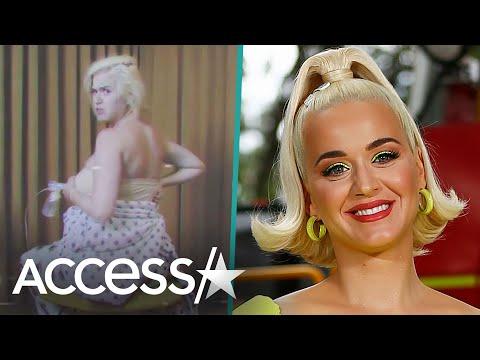 Katy Perry Uses Breast Pump In Jane Fonda Voting Video