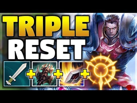 NEW PRESS THE ATTACK RUNE MAKES THIS COMBO BUSTED ON GAREN! GAREN TOP SEASON 8! - League of Legends