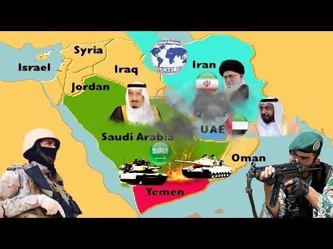 Saudi Arabia & United Arab Emirates VS Iran Military Power Comparison 2018
