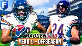 Madden 18 Bears Franchise   Year 1 FULL Offseason (NFL Draft/Free Agency)  Ep.19 2017 Video