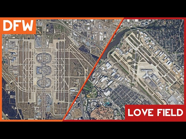 DFW vs Love Field: Dallas and Fort Worth's Airports Compared