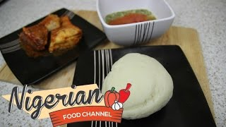 HOW TO MAKE POUNDED YAM | Nigerian Food Recipes | Nigerian Cuisine