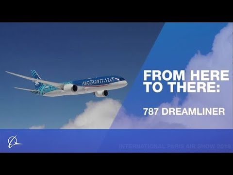 From Here to There: 787-9 Dreamliner