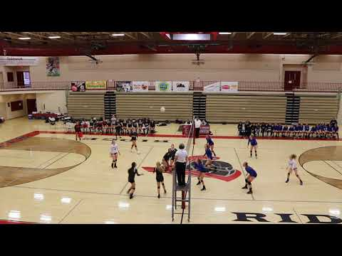 Northridge High Volleyball 10-10-2017
