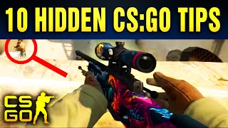 Top 10 Hidden CS:GO Tips Nobody Talks About