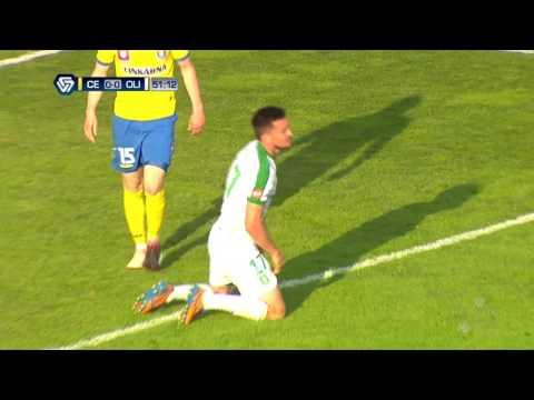28. krog: Celje - Olimpija 1:1 ; Prva liga Telekom Slovenije 2016/17