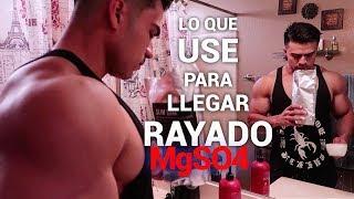COMO RAYARTE? Usando SULFATO DE MAGNESIO I Ismael Martinez