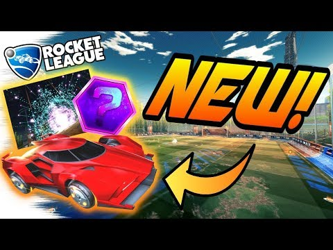 Rocket League Update: NEW TRIUMPH CRATE,