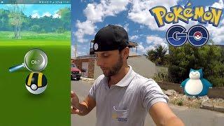 Snorlax está de volta! Capturando o melhor Pokémon para Breeding no Pokémon GO