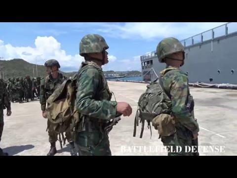 ทหารบกและนาวิกโยธินออกทะเล