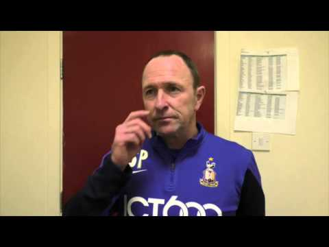 Parkin after Orient victory