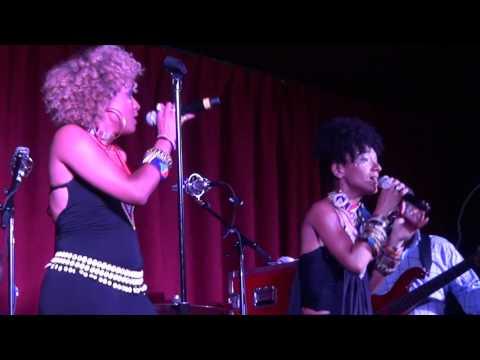 Les Nubians Live @The Shrine - Chicago (6/28/12)