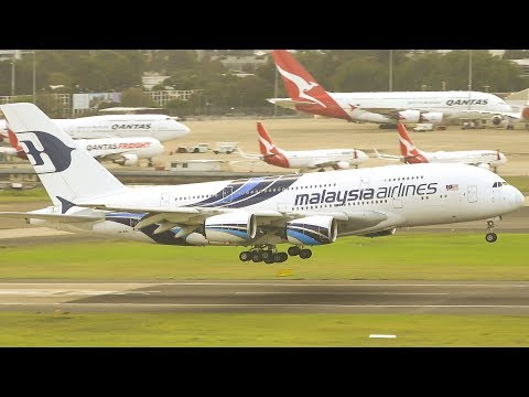 SYDNEY'S FINEST MORNING Heavies | Sydney Airport Plane Spotting