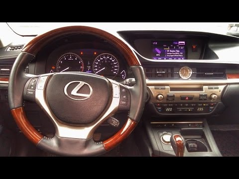 Lexus ES 350 Walk Through Mark Levinson Premium Audio