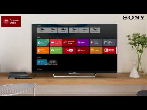 SONY Android TV : Built In Program Guide
