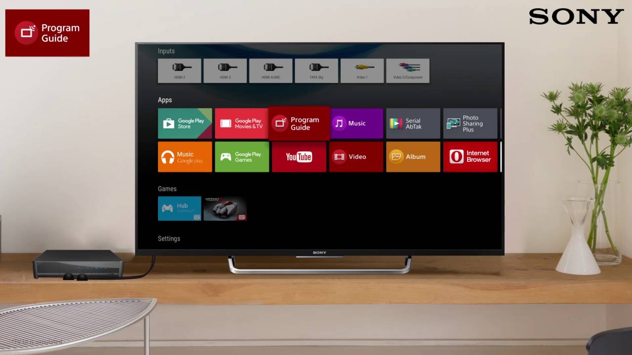 sony android tv built in program guide youtube rh youtube com sony tv guide aktualisieren sony bravia manual update