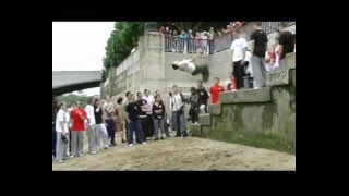 3run Family Jam 08 free running/parkour london-southbank