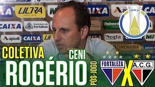 [Série B '18] Coletiva Rogério Ceni   Pós-jogo Fortaleza EC 0 X 1 Atlético Clube/GO   TV ARTILHEIRO