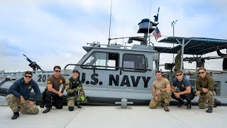 Found 5 Explosive Devices Underwater with the U.S. Navy! (Bomb Squad Called)