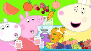 Peppa Pig Official Channel  Peppa Pig Celebrates the Fruit Day