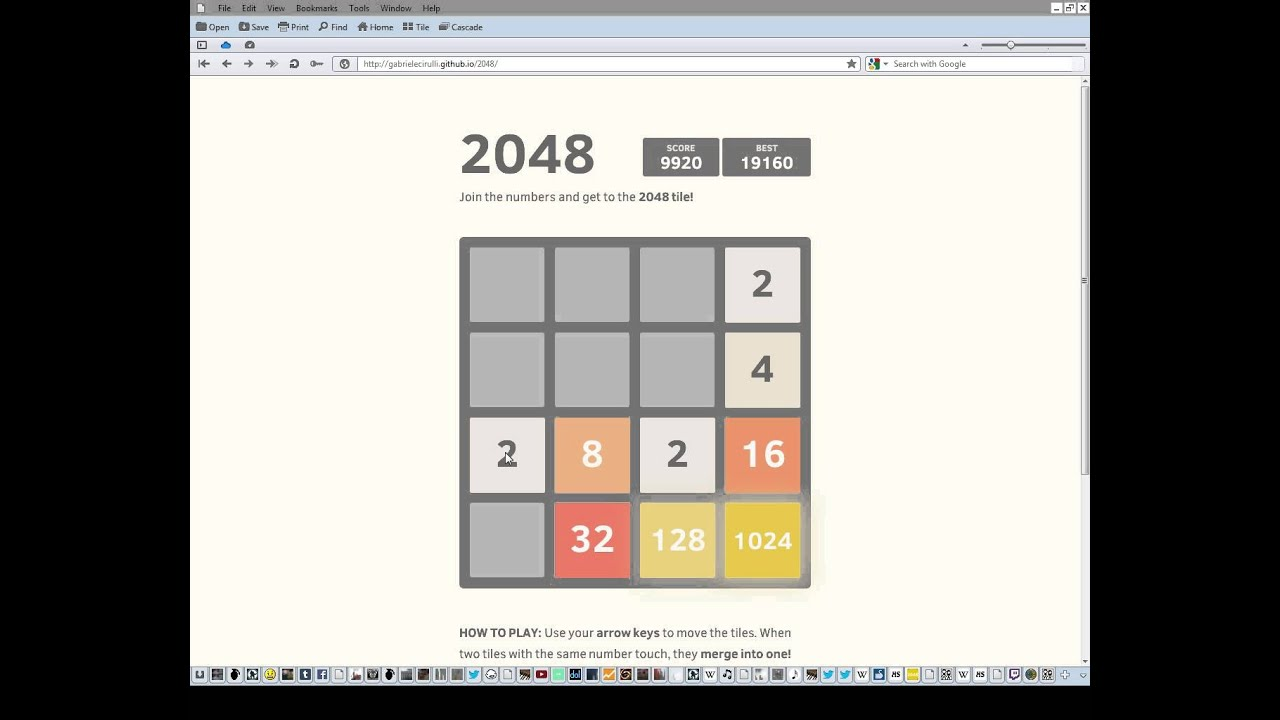 2048: how to win 59