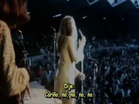 Janis Joplin - Ball and chain lyrics english spanish