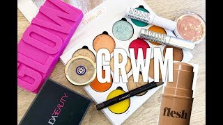 GRWM Trying New Makeup