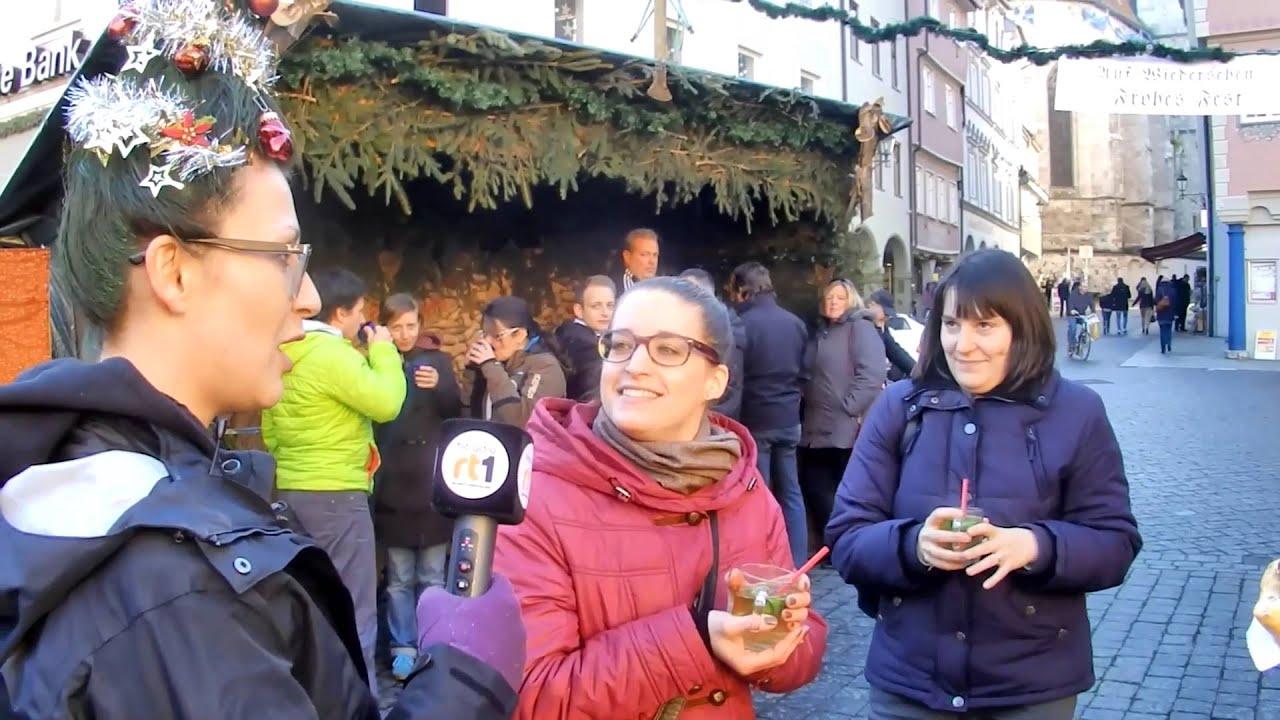 Bettina Testet Die Weihnachtsbaum Frisur Aufm Christkindlesmarkt