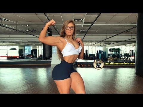 Inspiring Fitness Girls - Feeling strong
