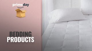 Up To 30% Off Bedding Products | Prime Day 2018: Pinzon Hypoallergenic Overfilled Microplush