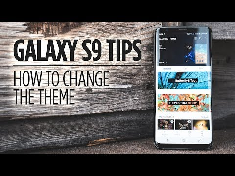 How to Change the Theme on Galaxy S9/S9+