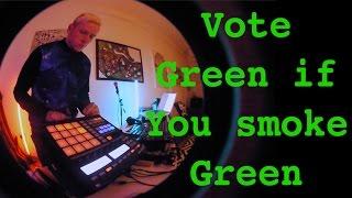 Adam John Williams - Vote Green/Smoke Green (Live Looping Performance)