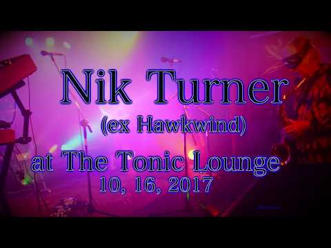 Nik Turner (ex Hawkwind) at the Tonic Lounge  10, 16, 2017  -Full Set