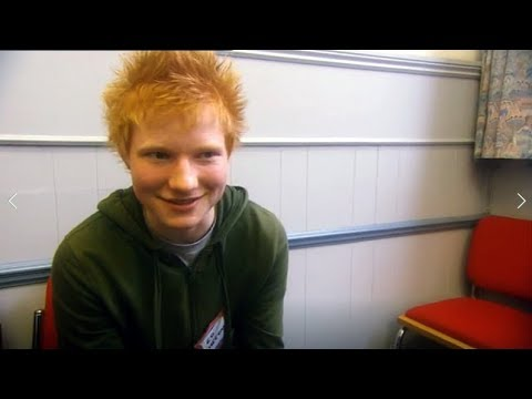 DJ Jaime Ferreira aka Dirty Elbows - Ed Sheeran Tried Out For A Glee Type TV Show As A Teen?