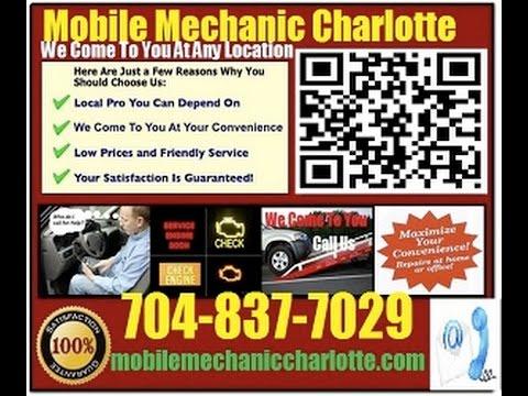 Mobile Mechanic Concord NC 704-837-7029 Auto Car Repair Service
