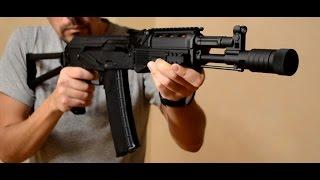 Обзор страйкбольного привода Tokyo Marui AK-102 Recoil Shock