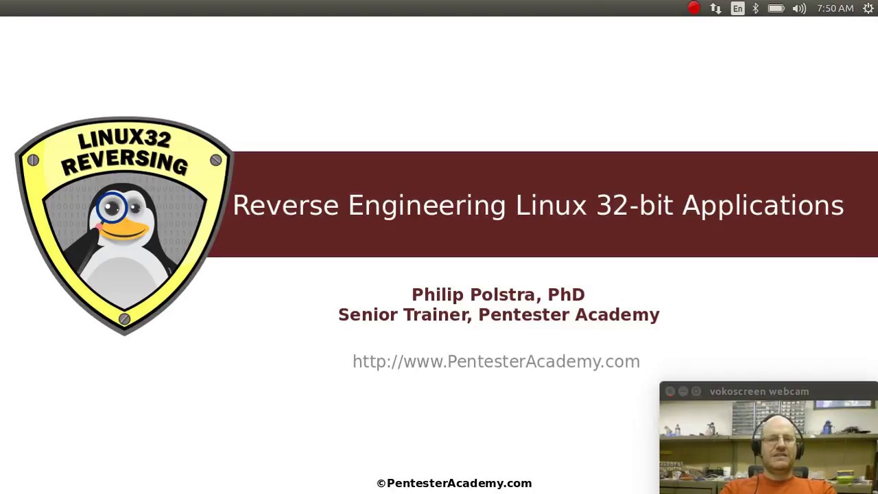 Reverse Engineering Linux 32-bit Applications - Course Introduction