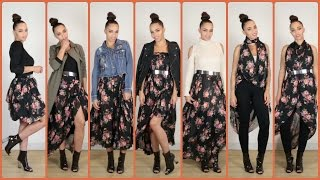 Download 30 Fall Fashion Outfits with 1 Skirt & Fall Fashion Outfit Ideas Mp3 and Videos