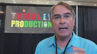 Harmon Houghton Interviews Garry Robinson @ Indigenous Comic Con