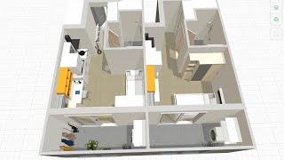 플래너5D로 행복주택 16형 꾸미기 5탄 - 슬라이딩 …
