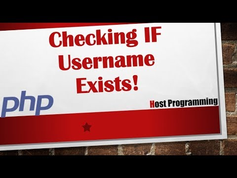 Check If Username Already Exists  Taken During Registration PHP(hindi)