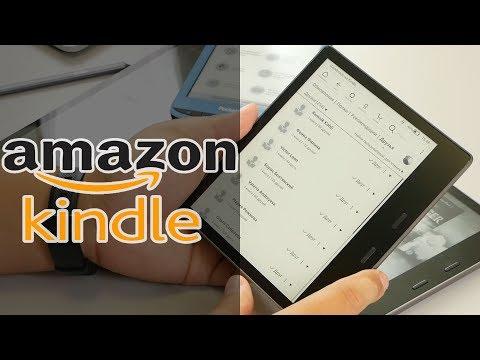 ОБЗОР | Электронная книга Amazon Kindle Oasis 2019