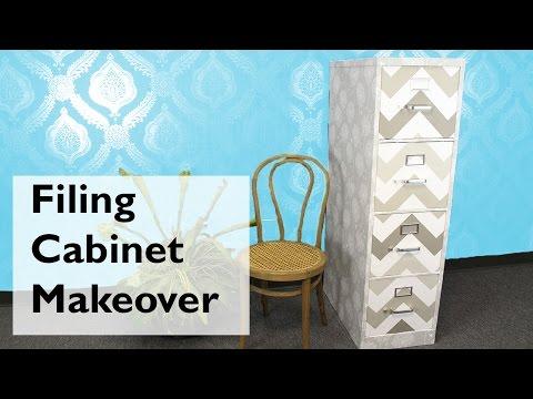 Filing Cabinet Makeover