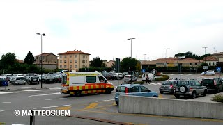 Ambulanza SUEM 118 Treviso [Wail Siren] [24] - Italian ambulance in emergency