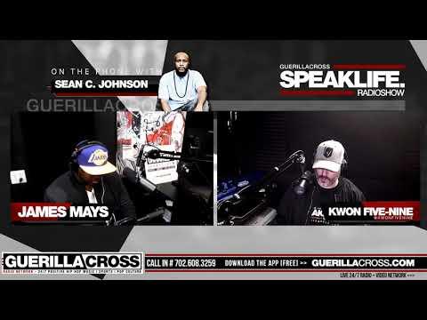 #SPEAKLIFERadio - Sean C  Johnson Conversation, Indie Artist Music Review -  Kevin Hart Drama