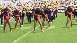 """North Carolina A&T Blue And Gold Marching Machine """"Stop the Love You Save"""""""
