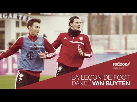 Leçon de foot par Daniel Van Buyten