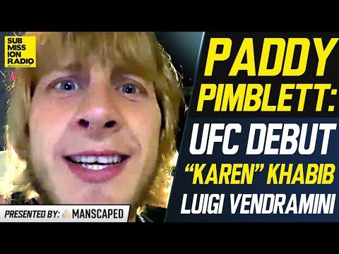 """Paddy Pimblett on UFC Debut, BLASTS """"Lying"""" Luigi Vendramini, Explains Khabib GOAT Comments"""